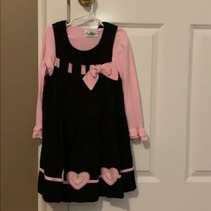 Little girls size 6 corduroy dress